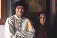 Partho with Kishori Amonkar